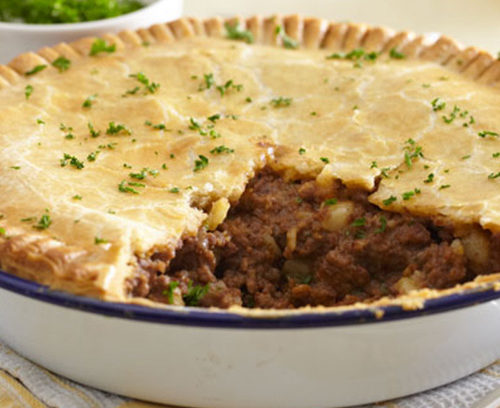 Meat and Potato Pie