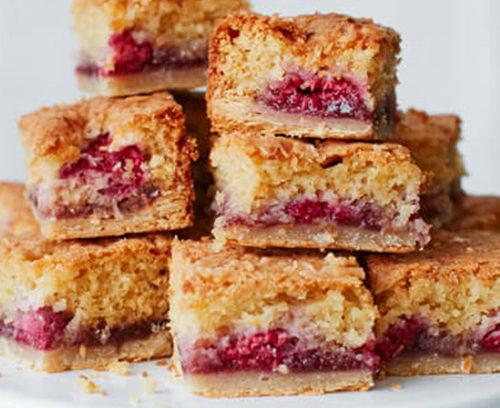 Raspberry & Coconut Bakewell