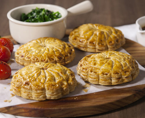 Rose Mary & Lamb Pithiviers