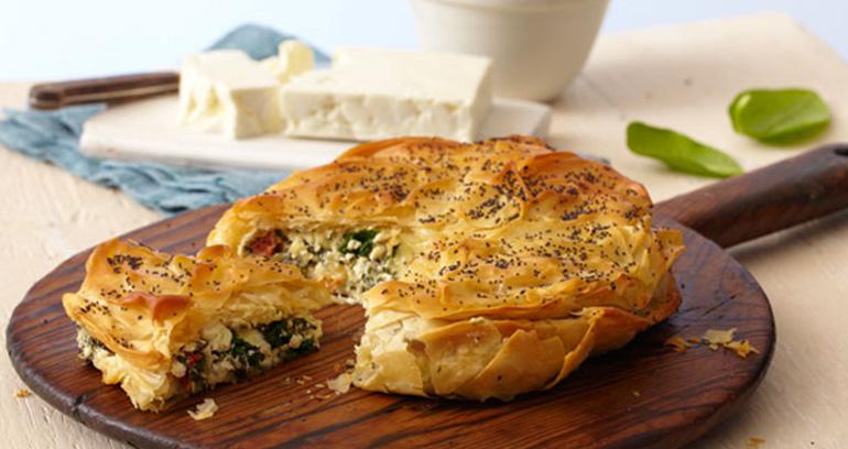 Spinach and Feta Filo Pie