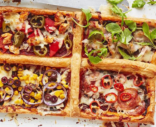 Four Seasons Pizza Tart