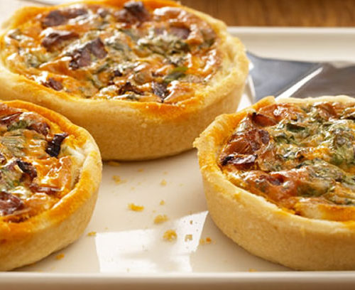 Chorizo & Red Onion Shortcrust Tarts